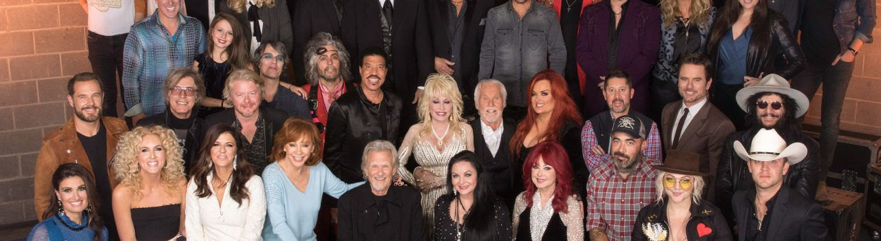 Kenny Rogers Tribute - Group Photo