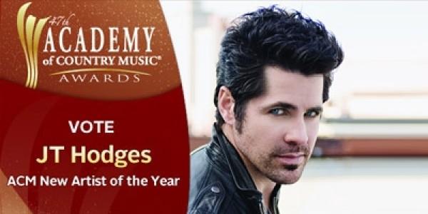 Vote JT Hodges ACM New Artist