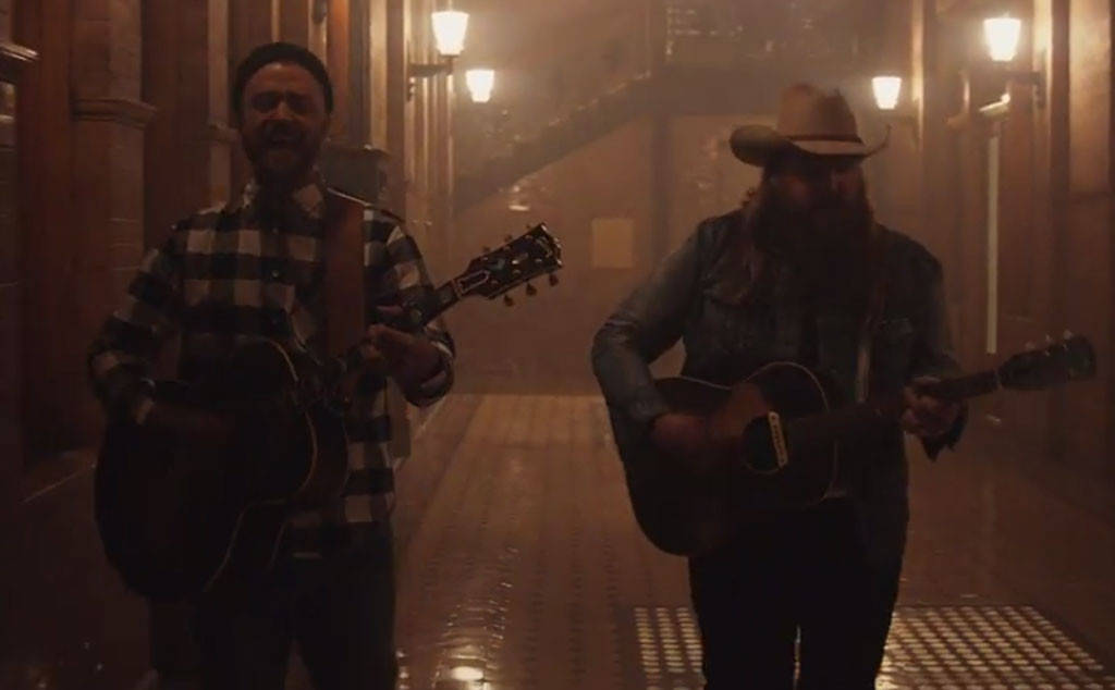 Justin Timberlake and Chris Stapleton