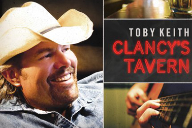 toby keith clancys tavern cover pic 390 x 260